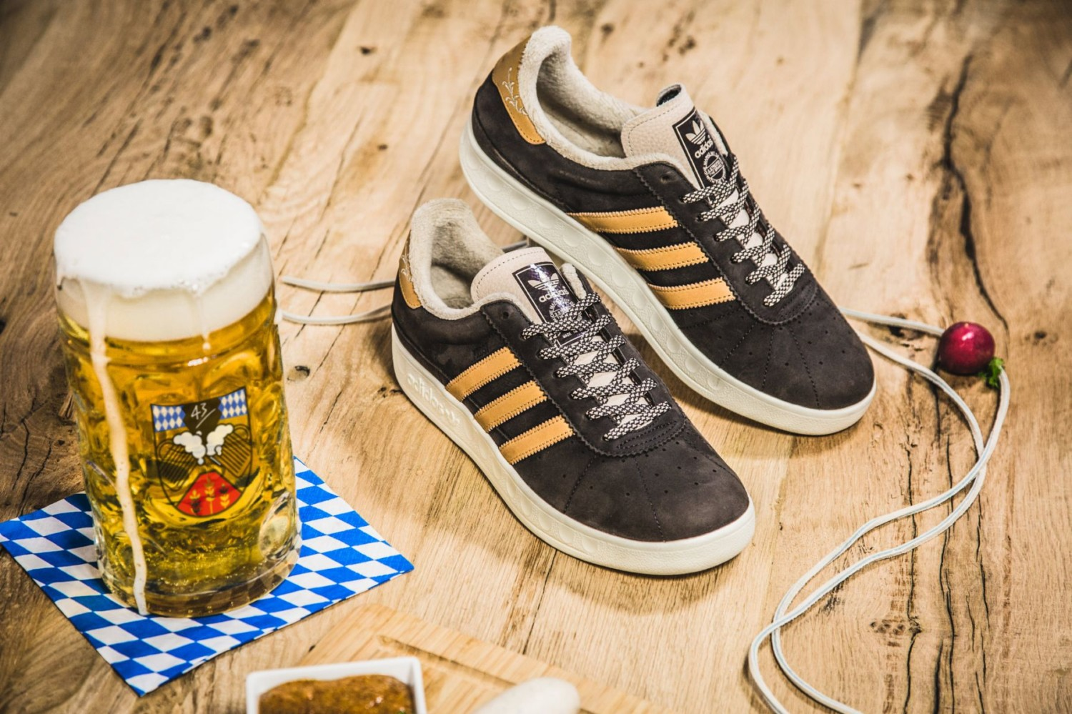Adidas launch beer and vomit proof trainers just in time for