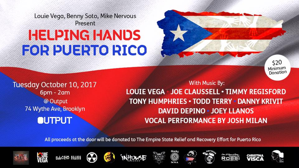 Output New York To Host Puerto Rico Charity Event HOUSE of