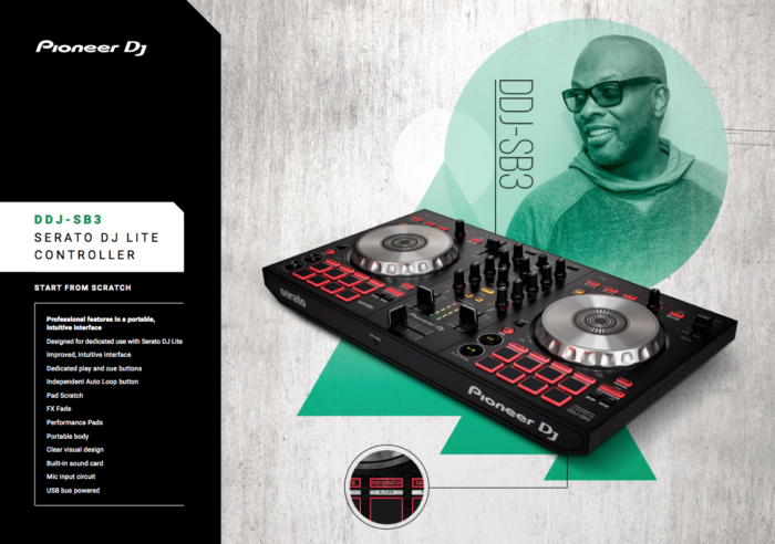 Pioneer DJ Launches New Controller In Collaboration With DJ Jazzy