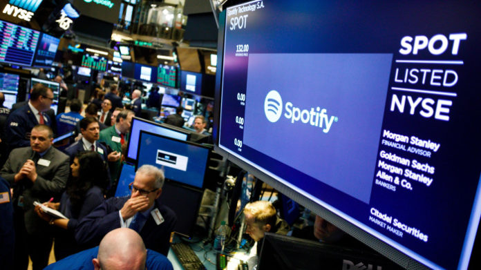 Spotify Has Been Valued On The New York Stock Exchange