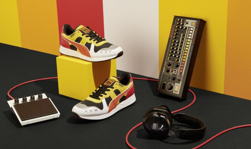 Roland and Puma Revealed Second 808 Inspired Sneaker HOUSE